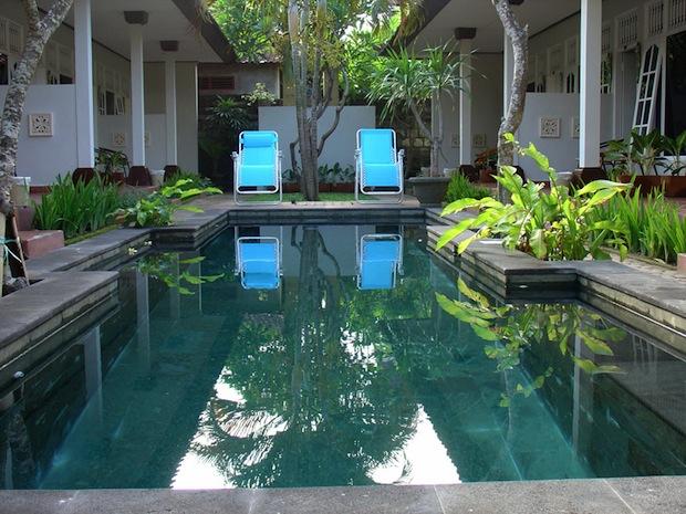 little pond homestay pool