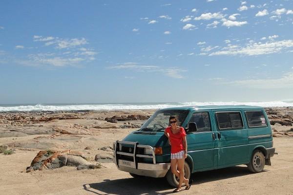 VW campervan in Australia