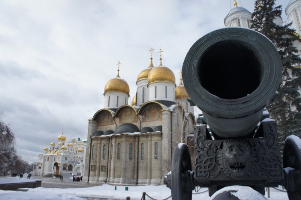 Cannon in the Kremlin, Moscow