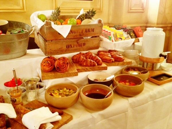 Breakfast At The Grand Hotel Brighton