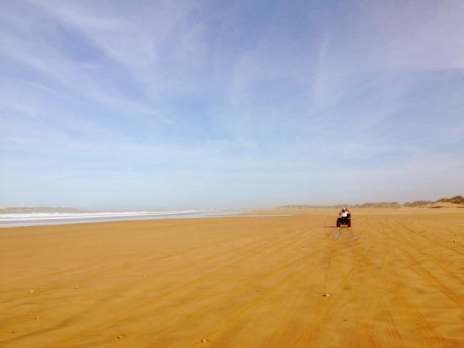 Quad biking in Morocco