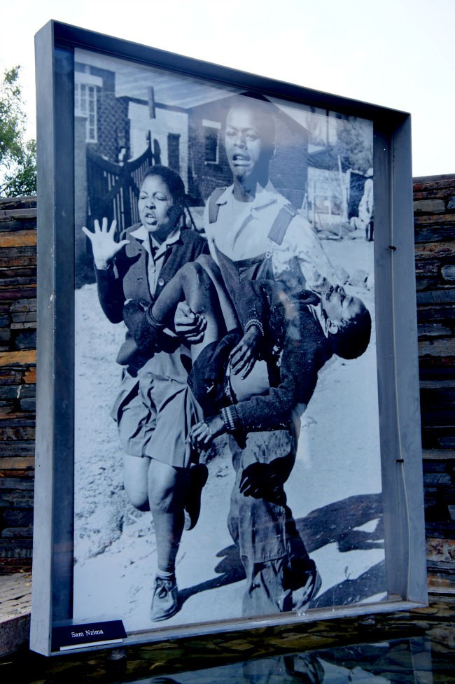 Hector Pieterson, famous photograph in Johannesburg