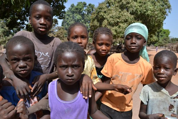 Kids in The Gambia