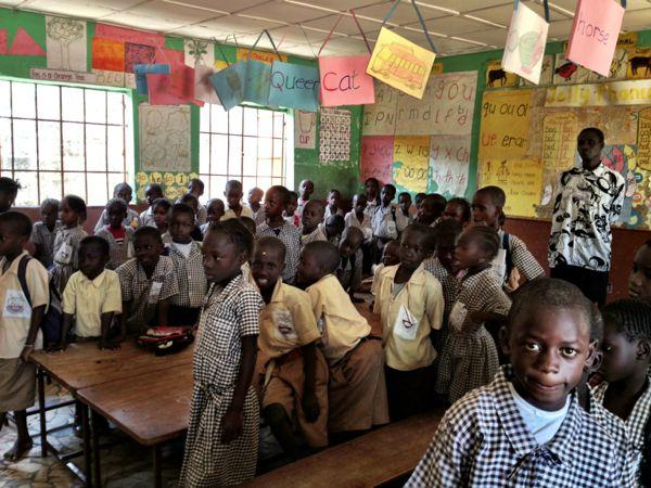 Wellingara School The Gambia
