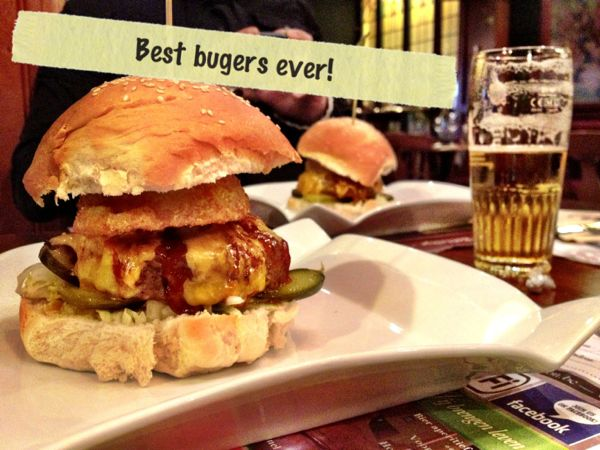 buger and beer