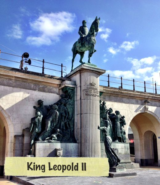 horse statue in Ostend