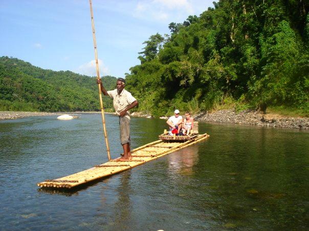 Rafting in Jamaica