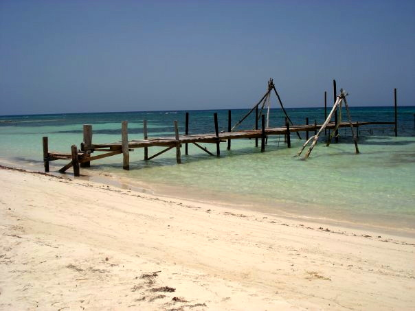 Jetty in Jamaica