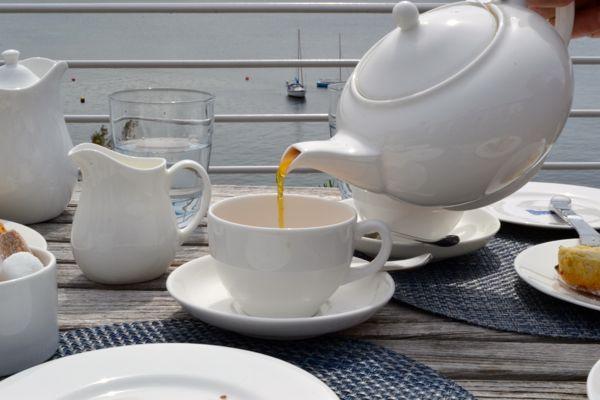 afternoon tea at Hotel Tresanton