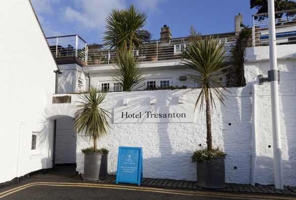 hotel tresanton from outside