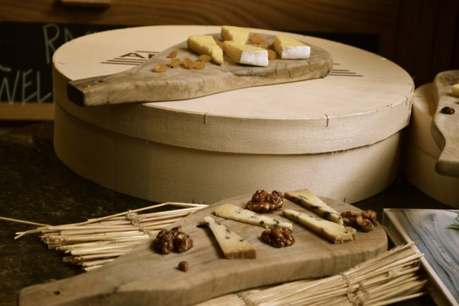 Cheese tasting at Androuet London
