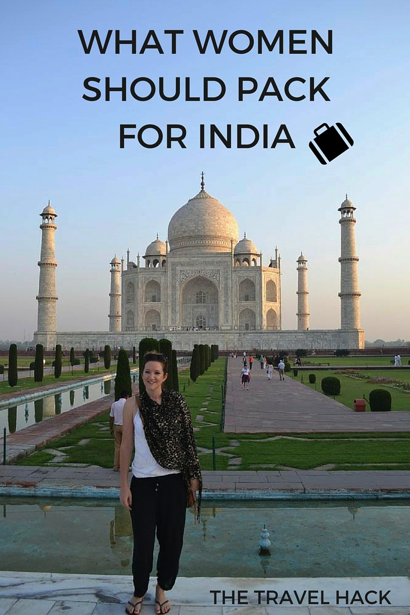What women should pack for India