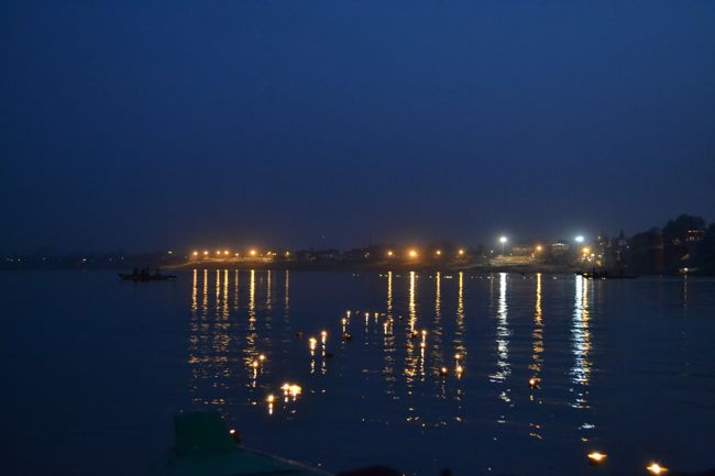 candles in the ganges