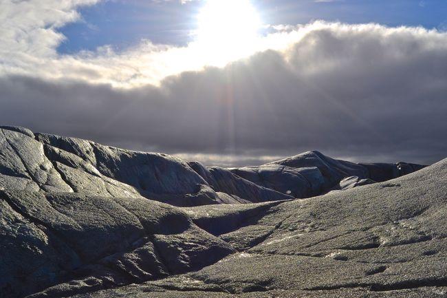 Climbing Icebergs in Iceland