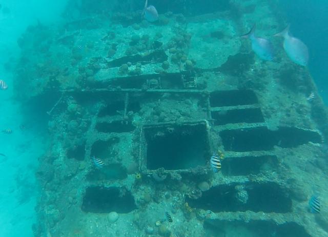 Shipwreck in Barbados