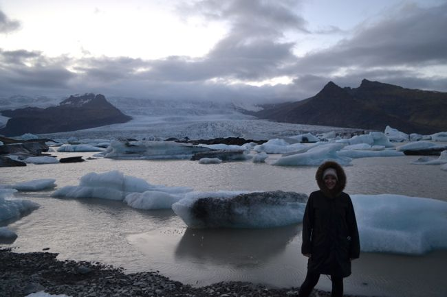The Travel Hack with Icebergs in Iceland