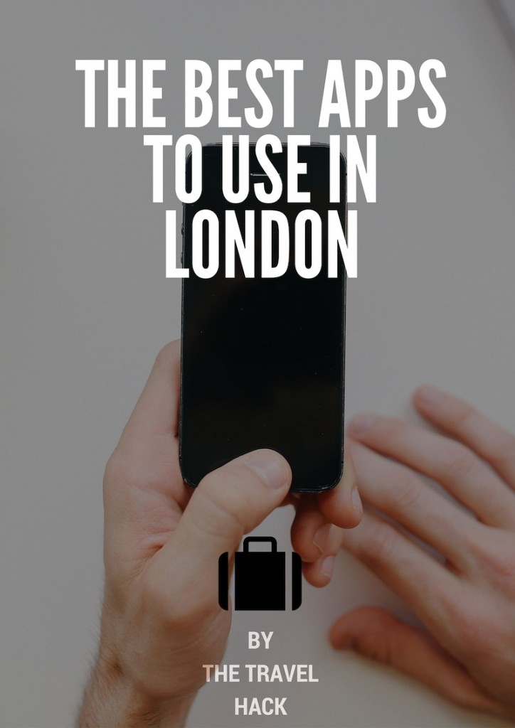 The best mobile apps to use in London