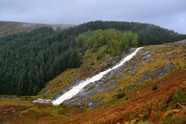 Glen Macnaas Waterfall Ireland