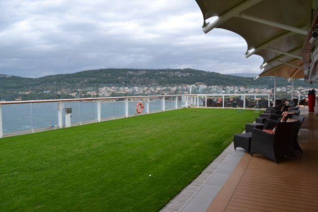 Lawn aboard Celebrity Silhouette