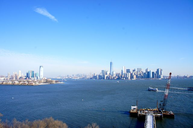 Views fro Statue of Liberty
