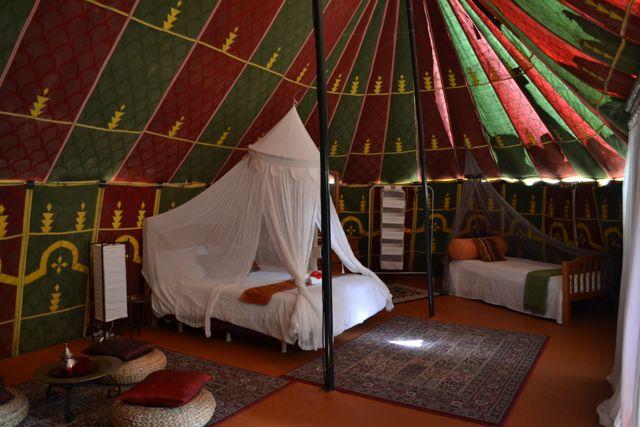 Sahara Tent at Azul Fit