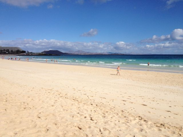 Strolls along the beach
