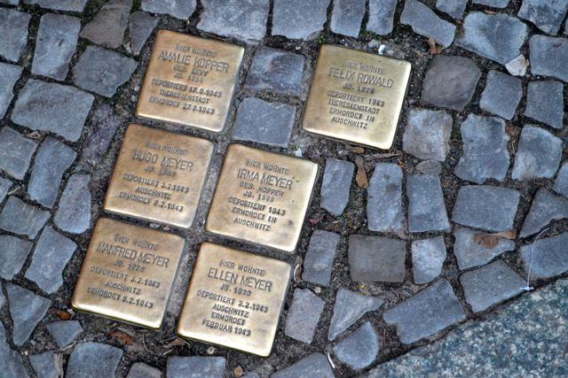 Stumbling Blocks Berlin