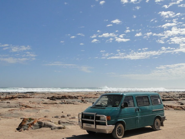 Campervan in Australia