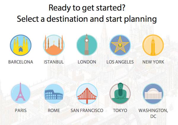 Dk trip planner