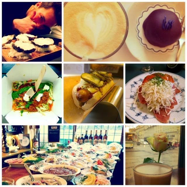 Eating and drinking in Copenhagen