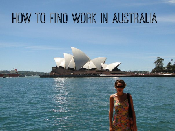 how to find work in sydney