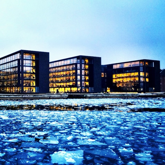 Ice in Copenhagen