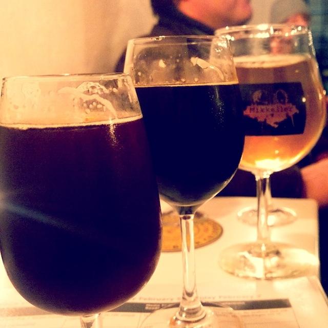 Beer tasting in Copengahen