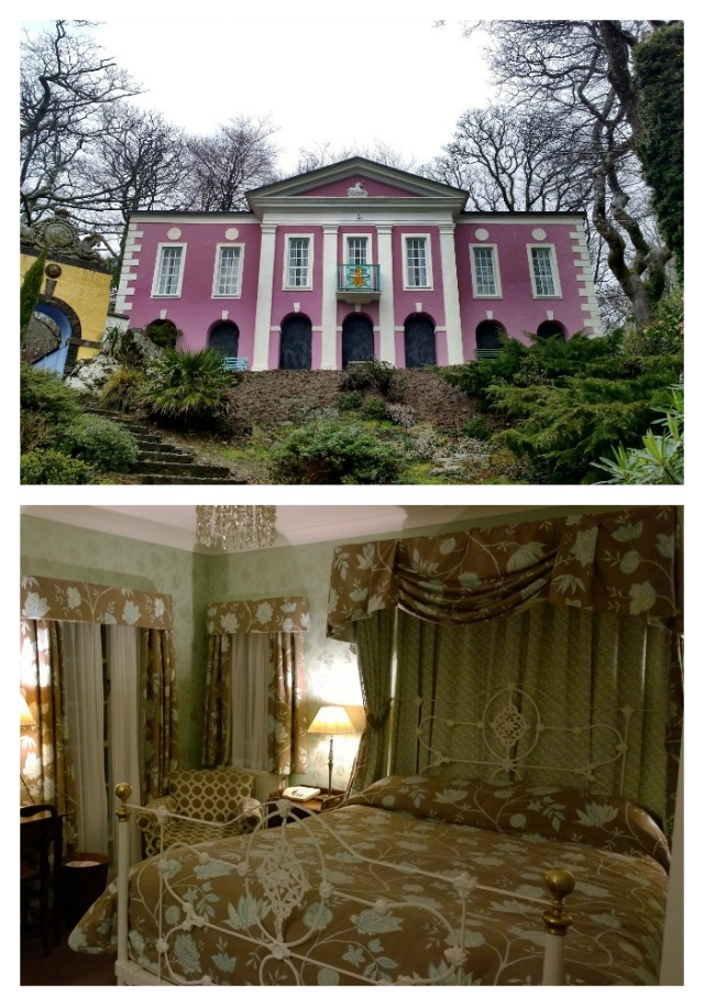 This entire pink house was ours for Valentine's night!