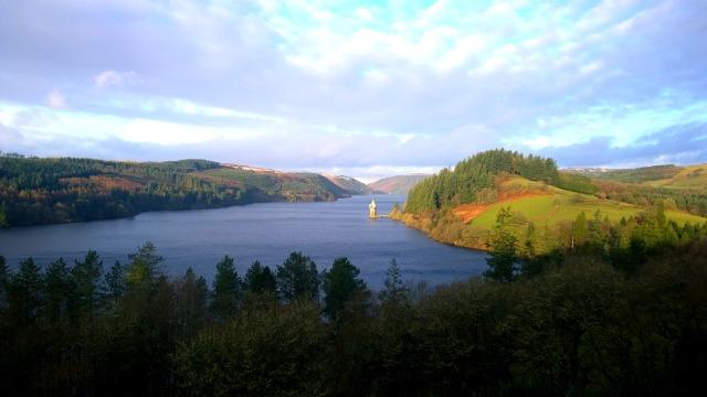Views from Lake Vrynwy Hotel