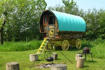 gypsy caravan somserset