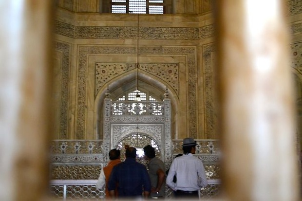 Inside the Taj Mahal