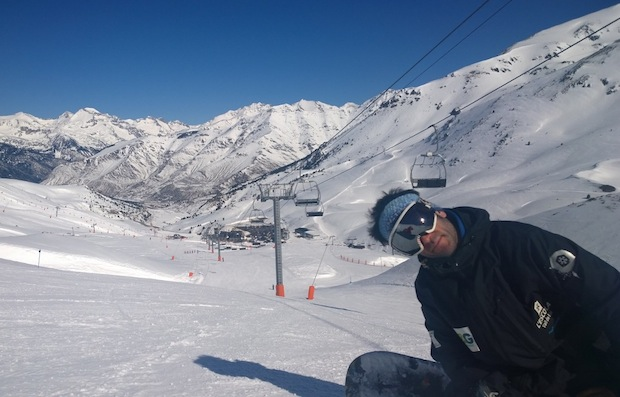 Skiing in Boi Taull