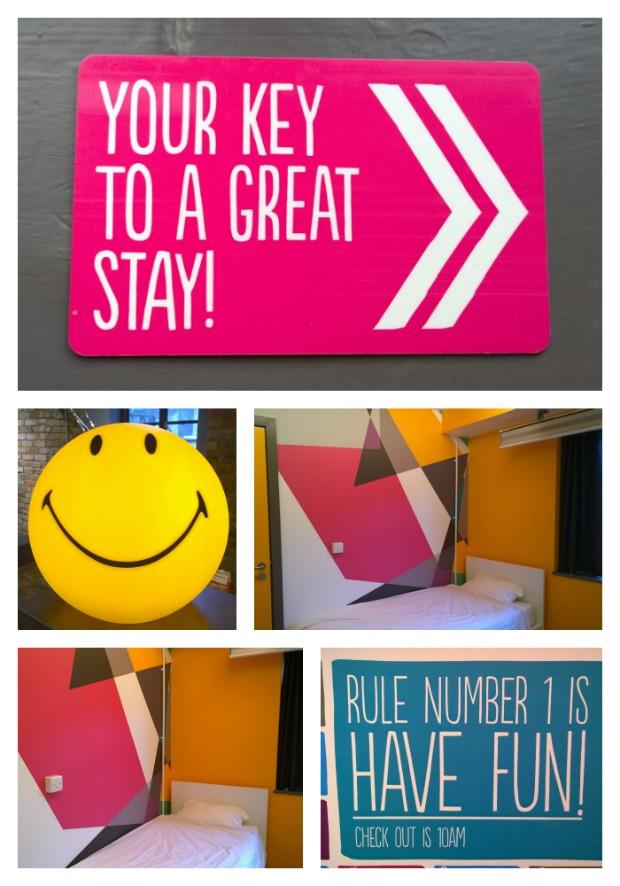 Twin room at Generator hostel London.jpg