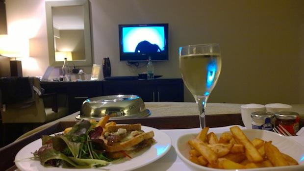 dinner at Felbridge hotel