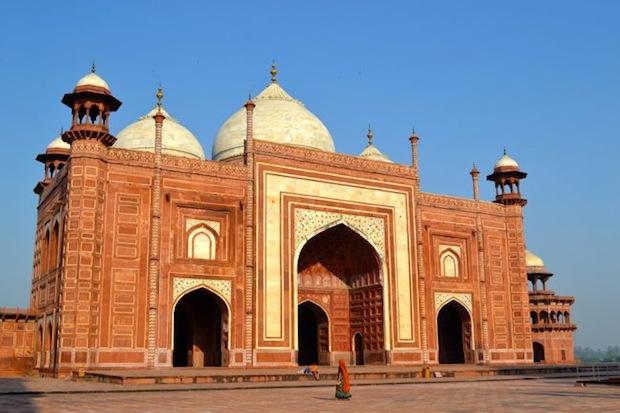 other building at Taj Mahal