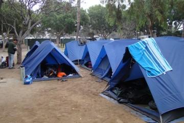 Camping with Trek America