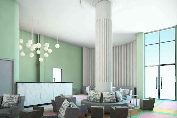 Metropolitan by COMO lobby