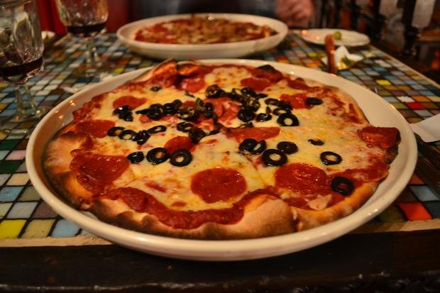 Pizza at Miceli's