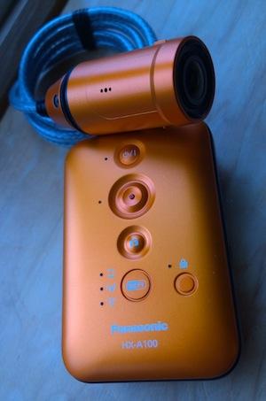 Testing the Panasonic HX A100