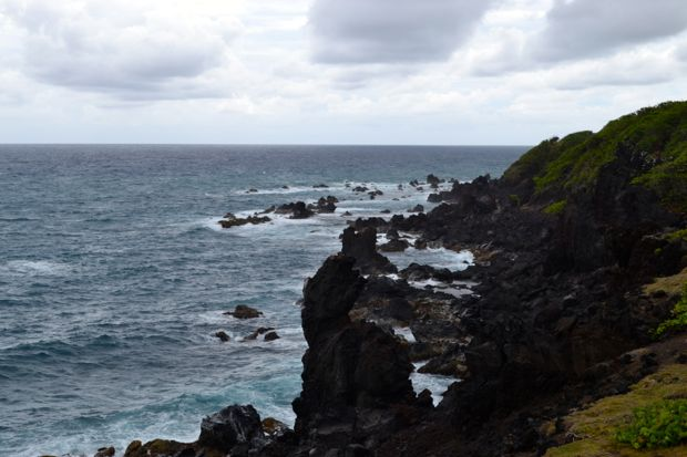 Black rocks st kitts