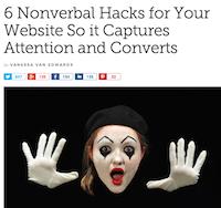 Blog hacks