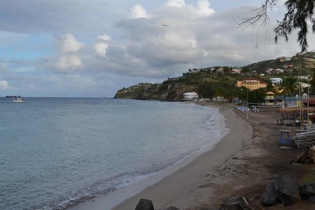 My breakfast spot at Timothy Beach Resort