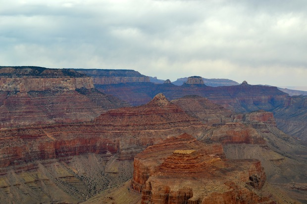 Grand Canyon from a helicopter