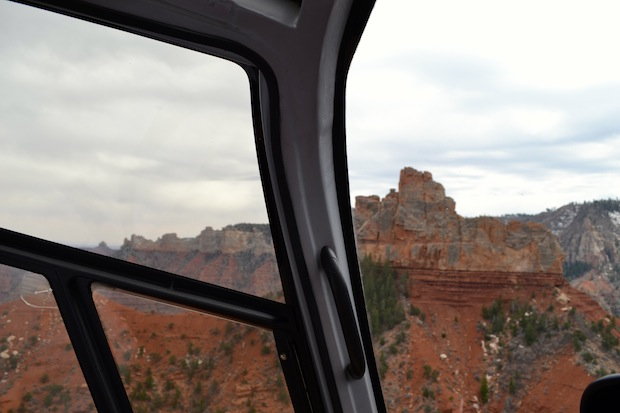 Grand Canyon from helicopter | Travel Blog